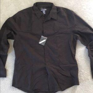 H&M easy iron men's shirt xl